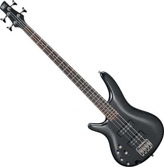 Ibanez SR Standard SR300EL Left-Handed Electric Bass Iron Pewter