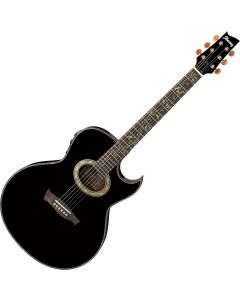 Ibanez Steve Vai EP10 Signature Acoustic Electric Guitar Black Pearl EP10BP