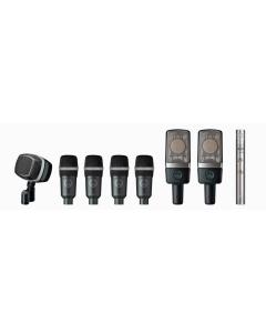 AKG Drum Set Premium Reference Drum Microphone Set 2581Z00140
