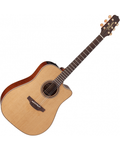 Takamine CP3DC-OV Dreadnought Acoustic Electric Guitar Satin Natural TAKCP3DCOV