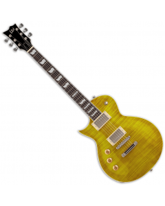 ESP LTD EC-256FM Flame Maple Top Left-Handed Electric Guitar Lemon Drop LEC256LDLH