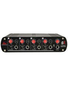 dbx DI4 Active 4 Channel Direct Box with Line Mixer DBXDI4