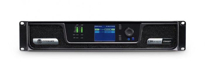 Crown Audio CDi 2|600BL Analog + Blue Link Drivecore Series Amplifier