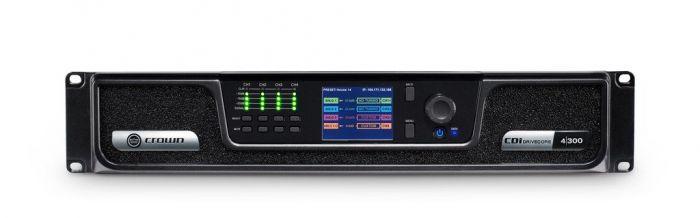 Crown Audio CDi 4|300 Analog Input Drivecore Series Amplifier