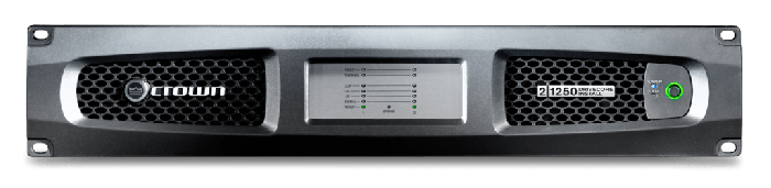 Crown Audio DCi 2|1250 Drivecore Install Analog Power Amplifier