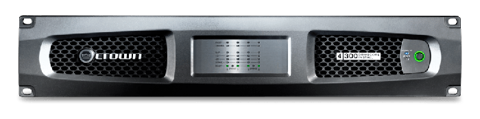 Crown Audio DCi 4|300 Drivecore Install Analog Power Amplifier