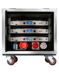 Crown Audio Vrack 1200HD Loaded Amplifier Rack GIT12HDVRACK