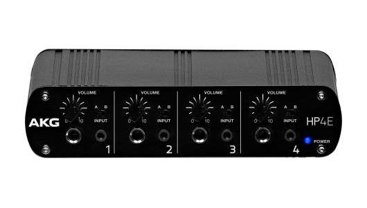 AKG HP4E 4-Channel Headphone Amplifier