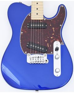 G&L USA ASAT Special Custom Guitar in Midnight Blue Metallic Vibrato!