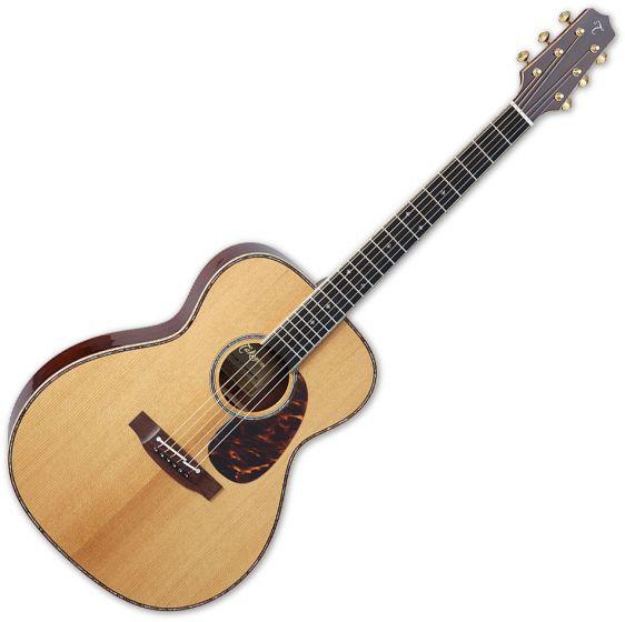 Takamine EF75M TT OM Body Acoustic Guitar Natural