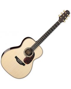 Takamine EF7M-LS OM Body Acoustic Guitar Natural TAKEF7MLS