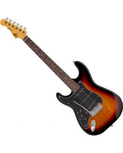G&L Tribute Legacy Left-Handed Electric Guitar 3-Tone Sunburst TI-LGY-121L20R23