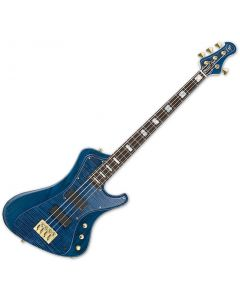 ESP Stream CTM Electric Bass in Marine Blue B-Stock ESTREAMCTMMARBL.B
