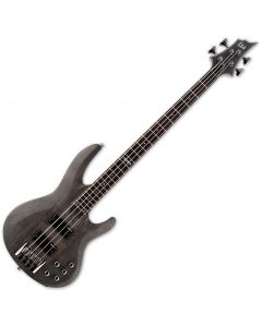 ESP LTD B-204SM Electric Bass in See Thru Black Satin B-Stock LB204SMSTBLKS.B