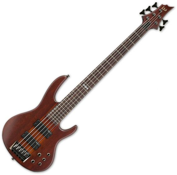 ESP LTD D-5 Bass in Natural Stain B-Stock