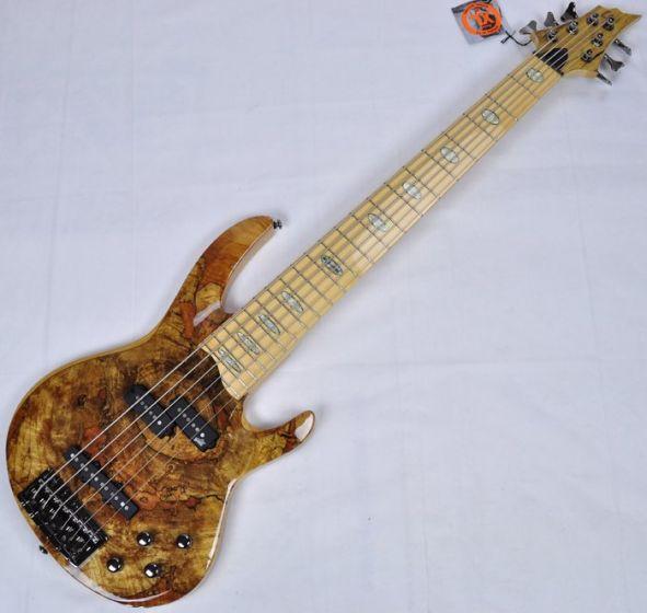 ESP LTD RB-1006SM NAT 6-String Electric Bass Guitar in Natural B-Stock