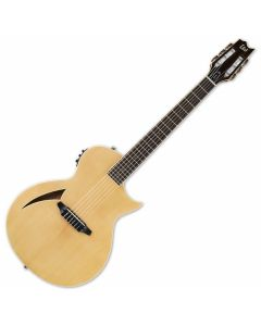 ESP LTD TL-6N Nylon String Acoustic Electric Guitar in Natural Finish B-Stock LTL6NNAT.B