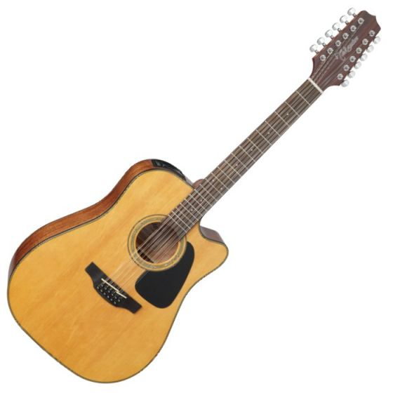 Takamine GD30CE-12NAT G-Series G30 12 String Acoustic Electric Guitar Natural B-Stock