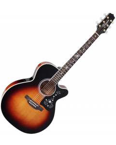 Takamine EF450C-TT NEX Acoustic Guitar Brown Sunburst B-Stock TAKEF450CTTBSB.B