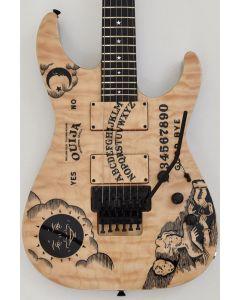 ESP KH-Ouija Kirk Hammett Japan Signature Guitar in Natural with Case