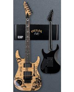 ESP LTD KH-Ouija Kirk Hammett Signature Guitar in Natural with Case