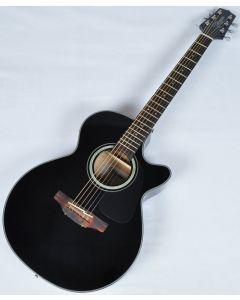 Takamine GF30CE-BLK G-Series G30 Cutaway Acoustic Electric Guitar Black B-Stock TAKGF30CEBLK.B