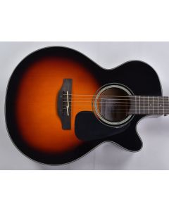 Takamine GF30CE-BSB G-Series G30 Cutaway Acoustic Electric Guitar Brown Sunburst B-Stock