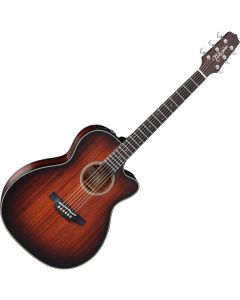 Takamine CP771MC SB OM Cutaway Acoustic Electric Guitar Shadow Burst Satin TAKCP771MCSB