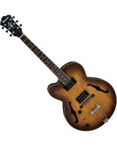 Ibanez AF Artcore AF55LTF Left-Handed Electric Guitar Tobacco Flat AF55LTF