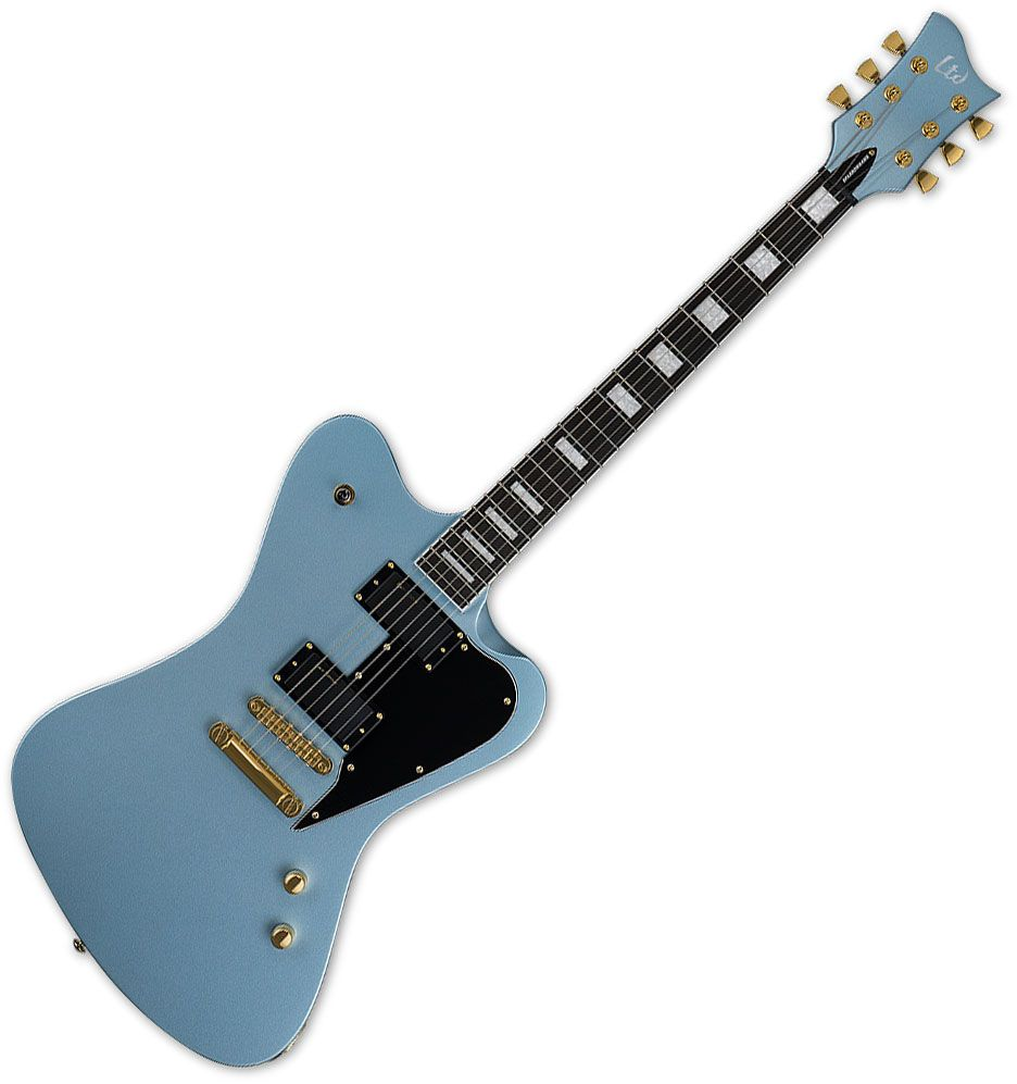 esp ltd sparrowhawk bill kelliher electric guitar pelham blue. Black Bedroom Furniture Sets. Home Design Ideas