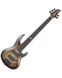 ESP E-II BTL-5 Electric Bass Black Natural Burst EIIBTL5STBLKNB