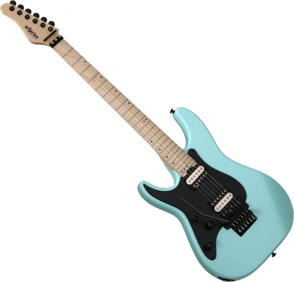Schecter Sun Valley Super Shredder FR Left-Handed Electric Guitar Sea Foam Green
