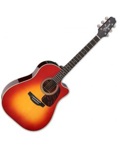 Takamine CP6SSDC Dreadnought Acoustic Guitar Gloss Cherry Sunburst TAKCP6SSDC