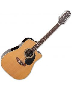 Takamine EF400SC TT Dreadnought Acoustic Guitar Natural Gloss TAKEF400SCTT