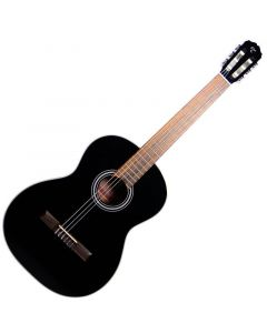 Takamine GC1CE-BLK Classical Acoustic Electric Guitar Gloss Black TAKGC1CEBLK