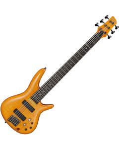 Ibanez GVB36AM Gerald Veasley Electric Bass Amber GVB36AM