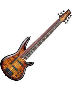 Ibanez SRAS7 Electric Bass Dragon Eye Burst SRAS7DEB