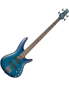 Ibanez SR500 Electric Bass Sapphire Blue Flat SR500SBF