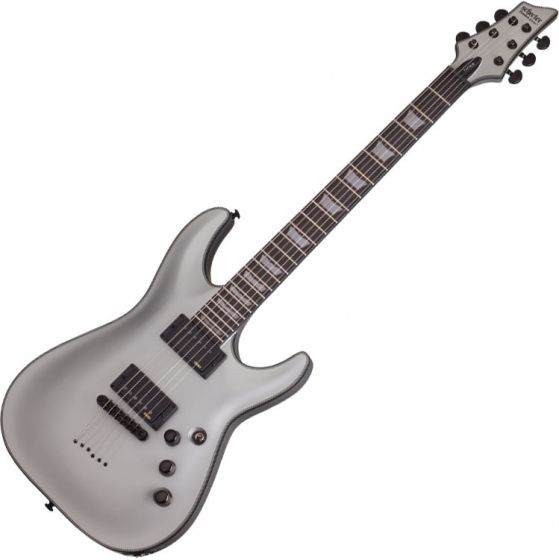 Schecter C-1 Platinum Electric Guitar Satin Silver