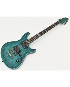 ESP Formula NT Electric Guitar in See Thru Turquoise EFORMULASTT