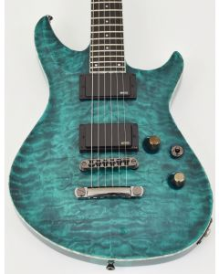 ESP Formula NT Electric Guitar in See Thru Turquoise