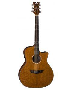 Dean AXS Exotic Cutaway Acoustic Electric Guitar Lacewood AX E LACEWOOD AX E LACEWOOD