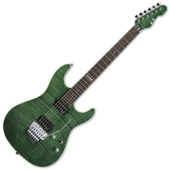 ESP E-II ST-2 FM RW EGR Emerald Green Finish Electric Guitar