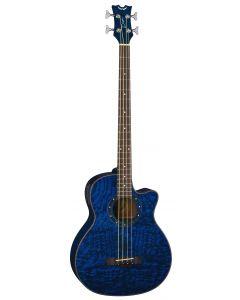 Dean Exotica Quilt Ash Acoustic Electric Bass TBL EQABA TBL EQABA TBL