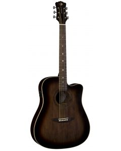 Luna Art Vintage Dreadnought Solid Top CAW A/E Guitar Dist ART V DCE ART V DCE