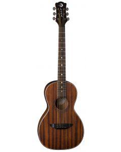 Luna Gypsy Muse Parlor Acoustic Guitar Mahogany GYP P MAH GYP P MAH