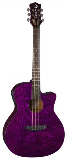 Luna Gypsy Quilt Ash A/E Trans Purple GYP E QA TPP