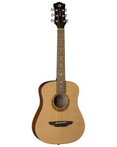 Luna Safari Muse Travel Acoustic Guitar Spruce w/Bag SAF MUS SPR SAF MUS SPR