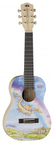 Luna Aurora 1/2 Nylon Guitar Dragon AR2 NYL DRAGON