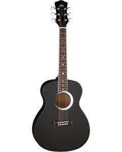 Luna Aurora Borealis 3/4 Guitar Black AR BOR BLK AR BOR BLK